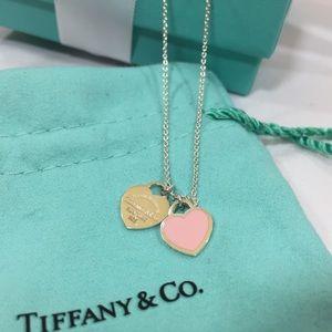Tiffany Return To Tiffany Enamel Heart Necklace